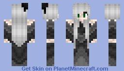 Undertaker Minecraft Skin Kuroshitsuji Black butler Undertaker Female Version