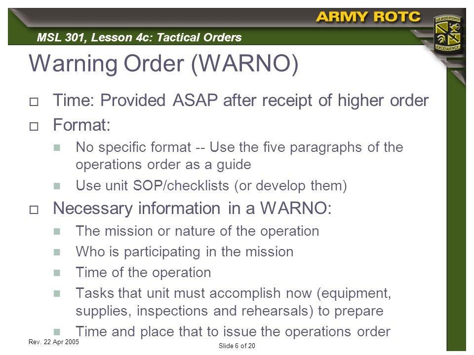 Usmc Warning order Example Download Бассейн Амура Осваивая Сохранить 2007