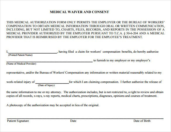 Utah Workers Compensation Waiver form What is A Workers Pensation Waiver form
