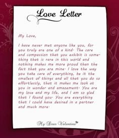 Valentine Letters for Him 1000 Images About Love Letters for Her On Pinterest