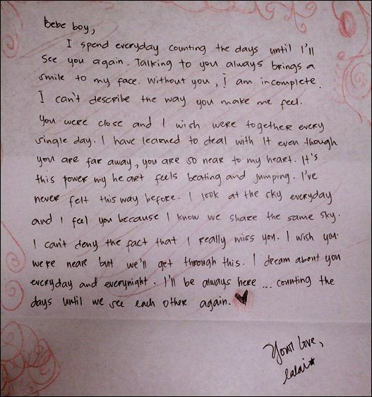 Valentine Letters for Him 25 Best Ideas About Romantic Letters for Him On Pinterest