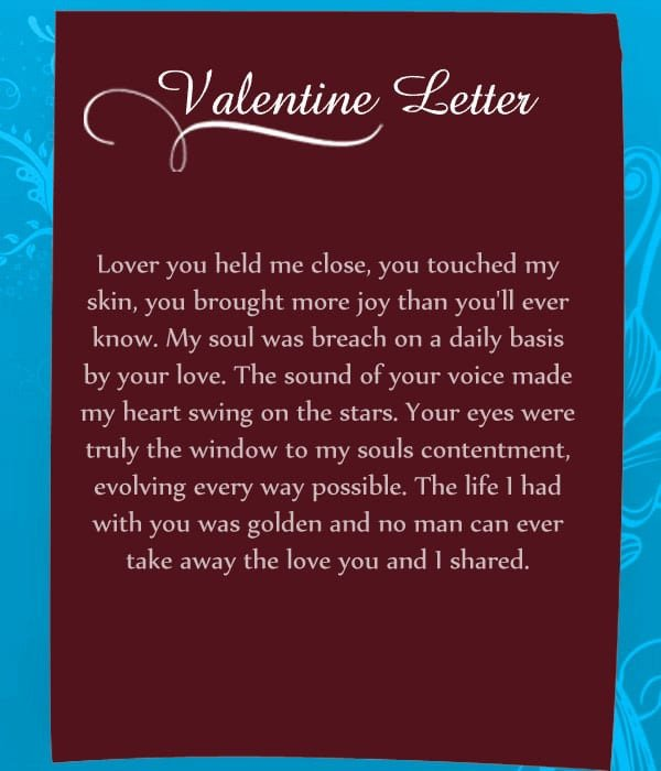 Valentine Letters for Him Valentine Day Paragraph for Her 2018 Happy Valentines