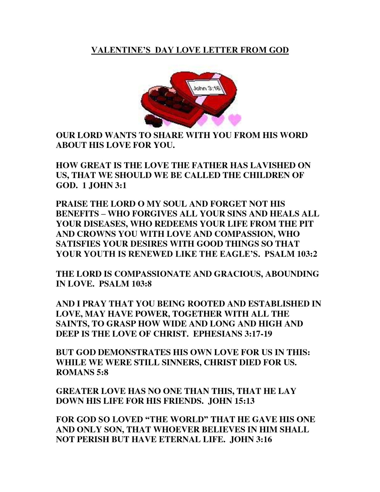 Valentine Letters for Him Valentines Day Love Letters for Him Her