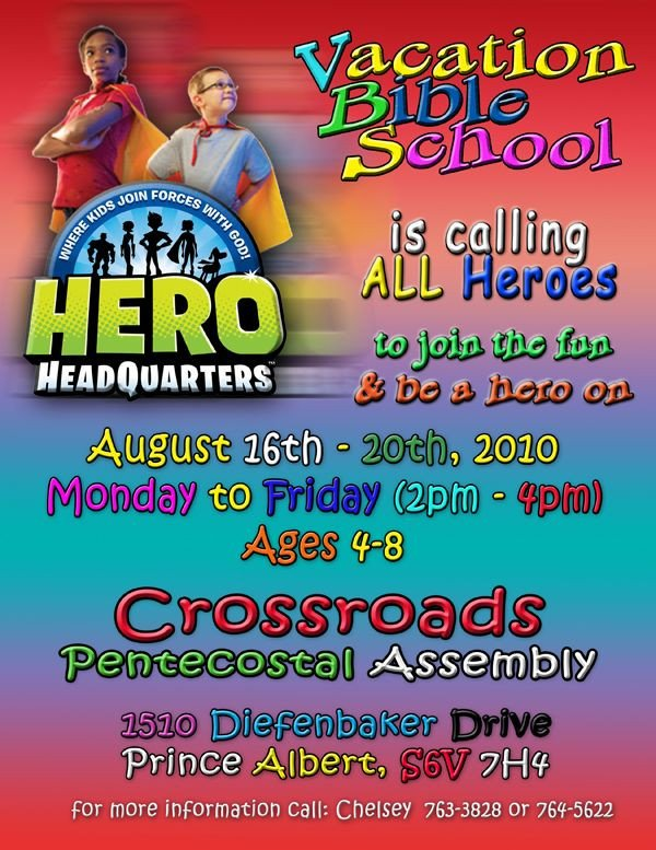 Vbs Flyer Template Flyer Idea Vbs Pinterest