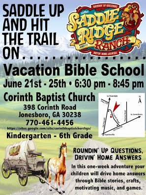 Vbs Flyer Template Vbs Flyers Printable