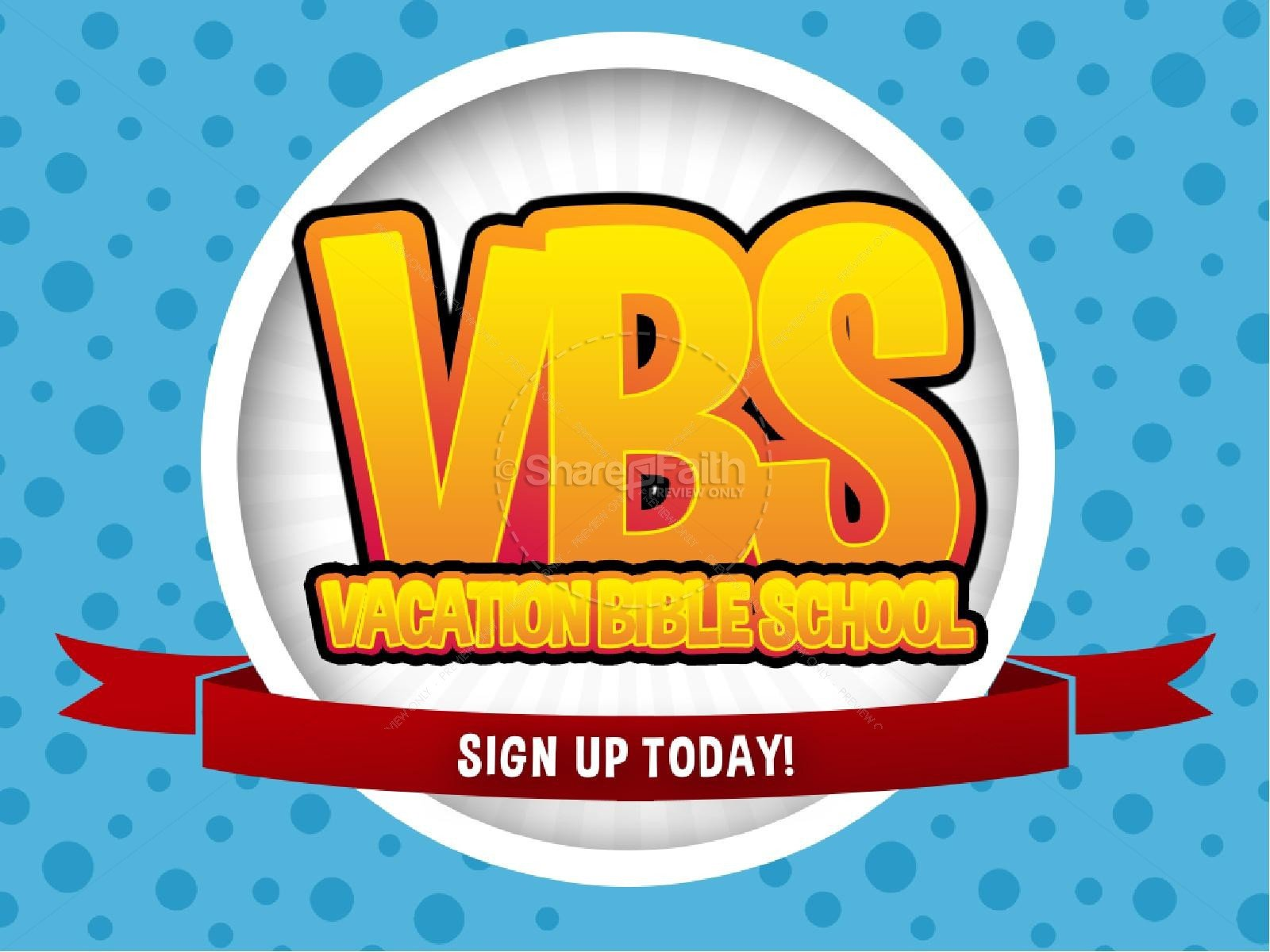Vbs Flyer Template Vbs Media Christian Powerpoint