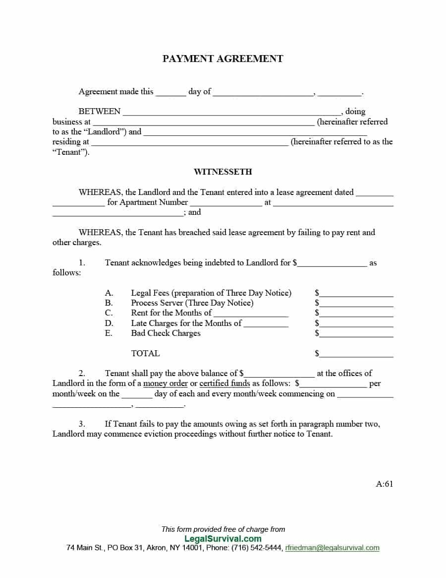 Vehicle Payment Contract Template 33 Great Payment Plan Schedule Templates Template Archive