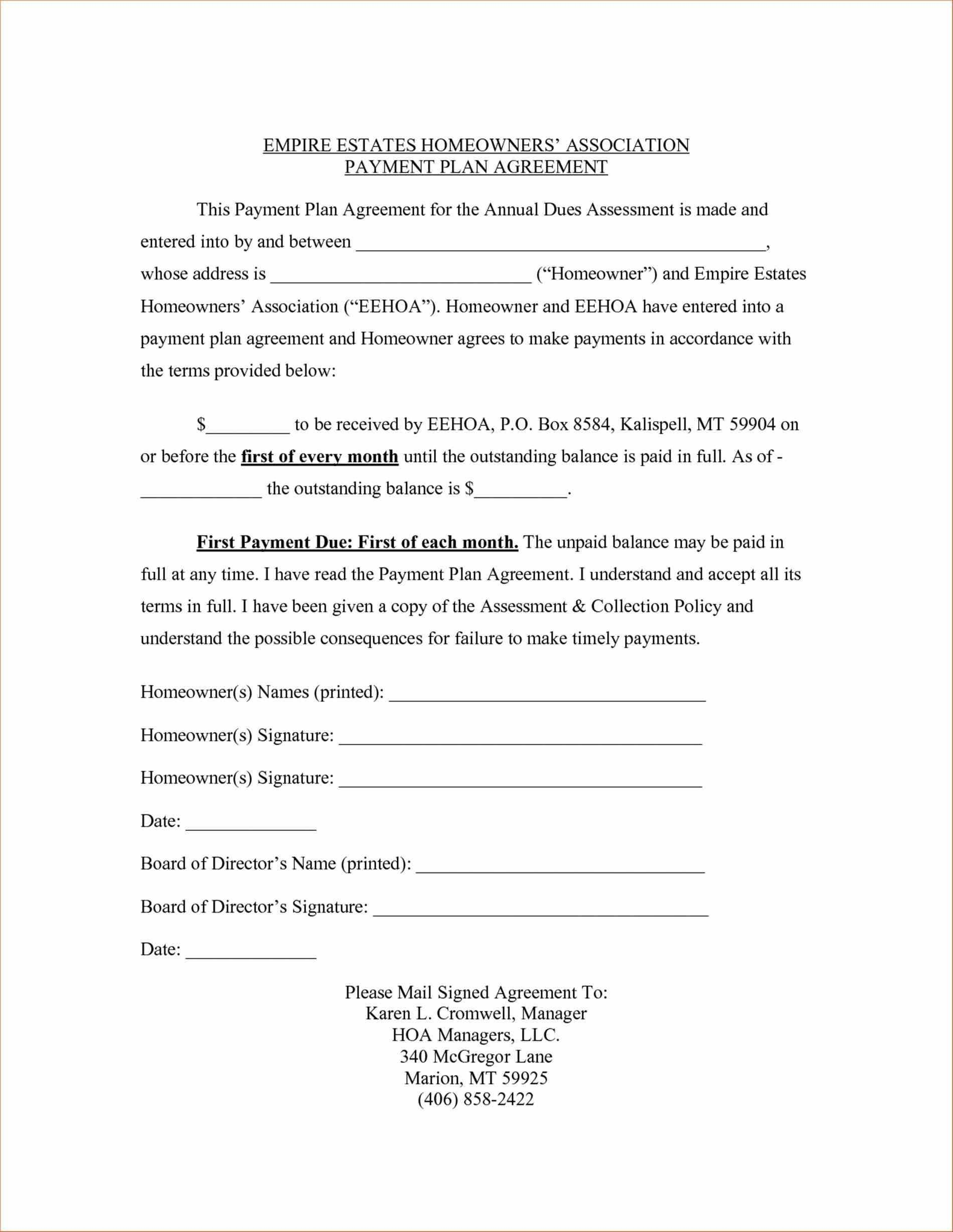 Vehicle Payment Contract Template Image Result for Payment Plan Contract Agreement Template