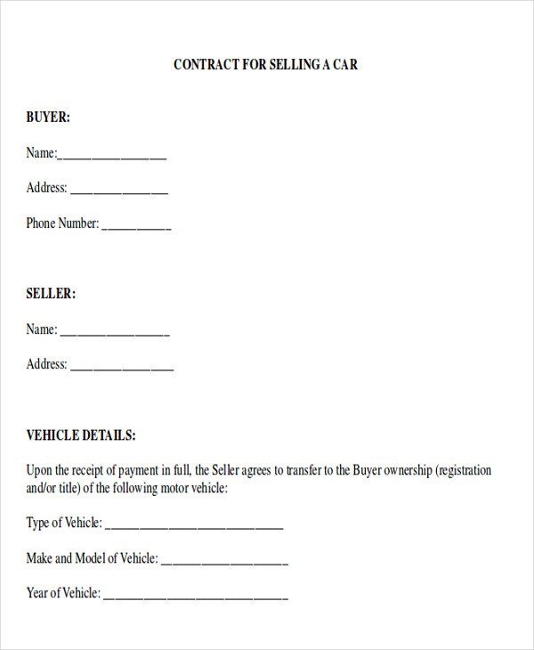 Vehicle Payment Contract Template Sample Payment Plan Agreement 10 Examples In Word Pdf