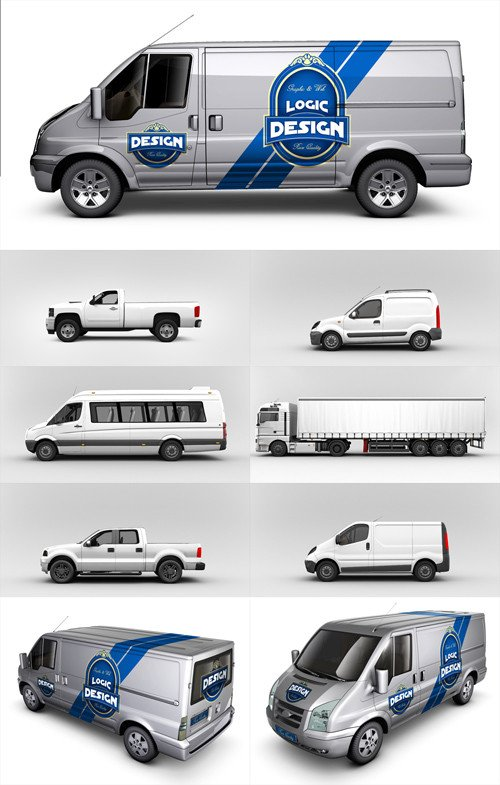Vehicle Wrap Templates Free Downloads 10 Van Mockup Psd Free Shop Psd Free