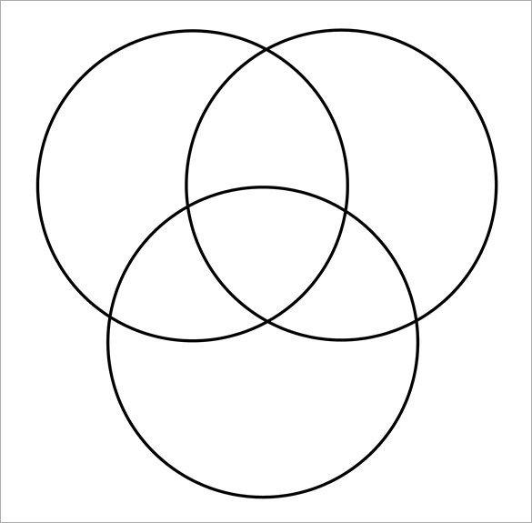 Venn Diagram In Word 4 Free Venn Diagram Templates Free Sample Example