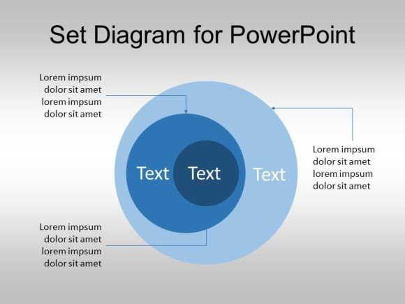Venn Diagram Powerpoint Template Free Set Diagram for Powerpoint Venn Diagram Template