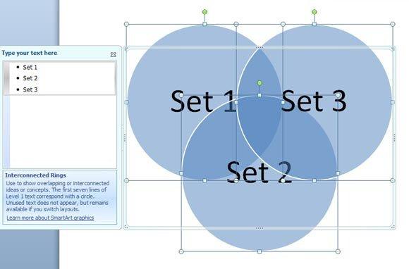 Venn Diagram Powerpoint Template How to Create A Venn Diagram In Powerpoint 2010