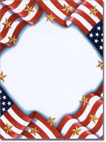 Veterans Day Borders Free Patriotic Page Borders