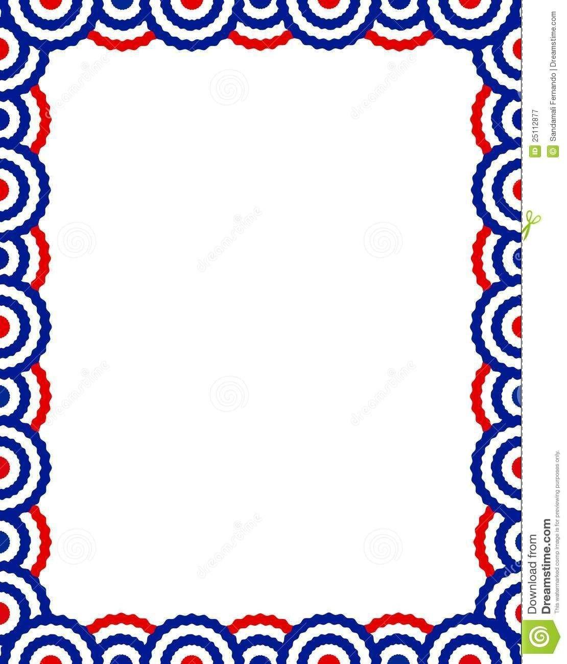 Veterans Day Borders Free Patriotic Page Borders Patriotic Border