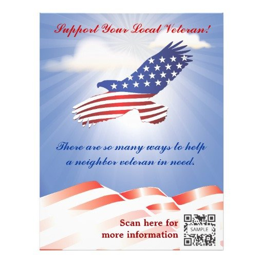 Veterans Day Program Template Flyer Template Veterans