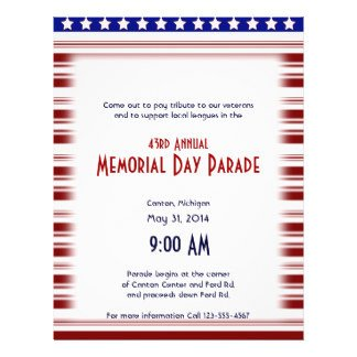 Veterans Day Program Template Veterans Day Flyers & Programs