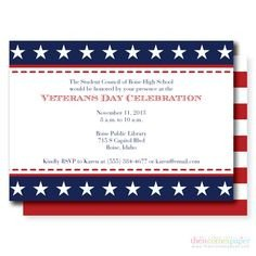 Veterans Day Program Template Veterans Day Invitation Google Search