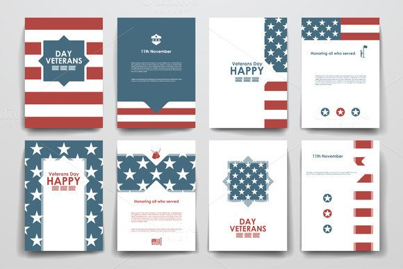 Veterans Day Program Template Veterans Day Program Flyer Templates Free Designtube