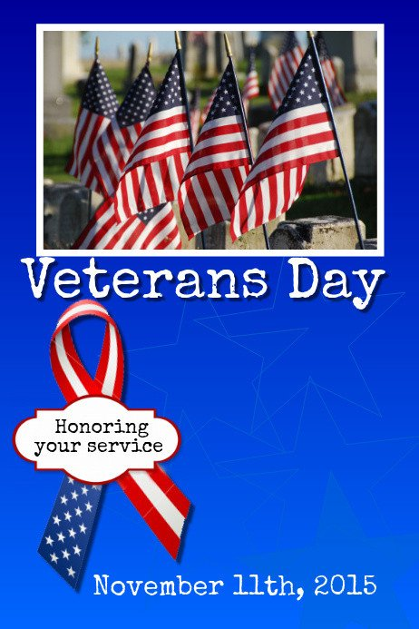 Veterans Day Program Template Veterans Day Template