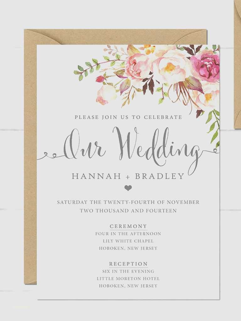 Vintage Wedding Invitation Templates New Blank Vintage Wedding Invitation Templates Creative
