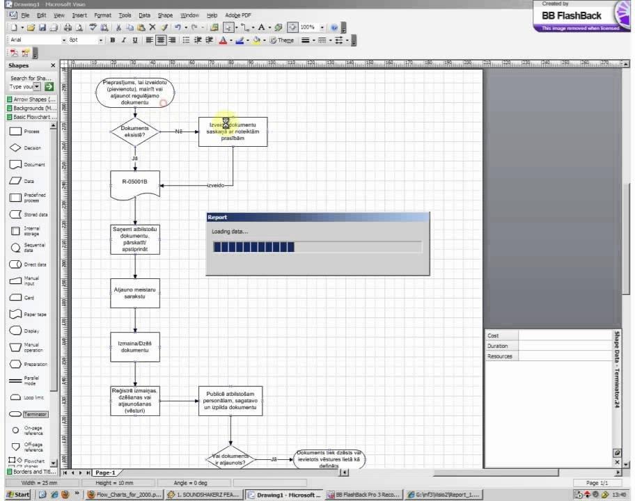 Visio Flow Chart Templates Visio Flowchart Example