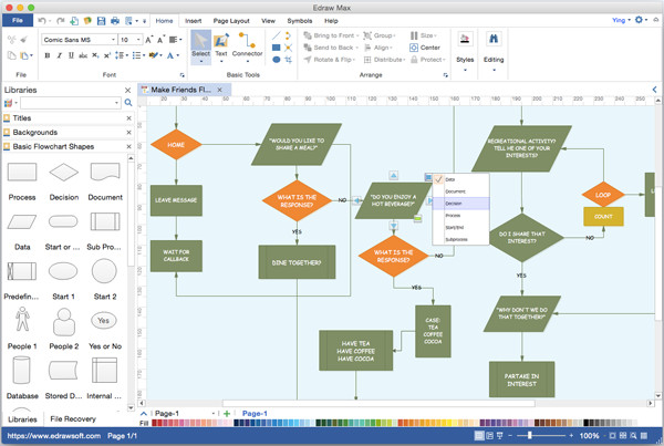 Visio Flow Chart Templates which software Do You Use to Create Flowchart On Mac Quora