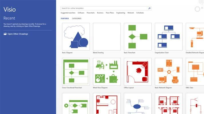 Visio Web Template Microsoft Visio Line