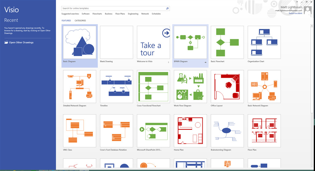 Visio Web Template [visio 2013 Standard] Stencil and Template for Bpmn is
