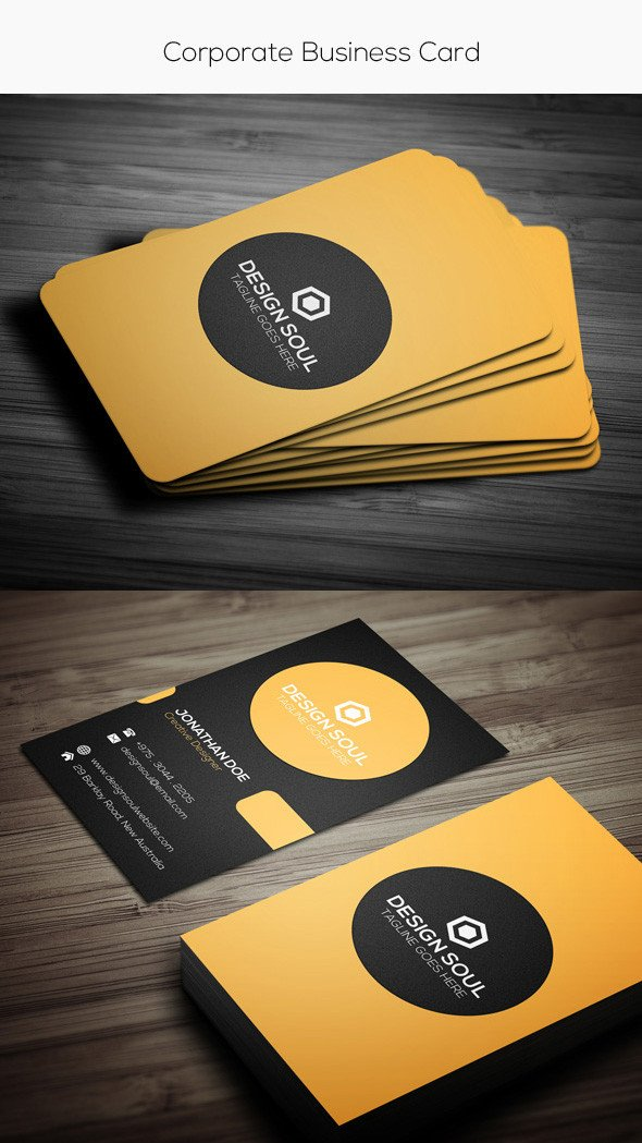 Vistaprint Business Card Photoshop Template 15 Premium Business Card Templates In Shop