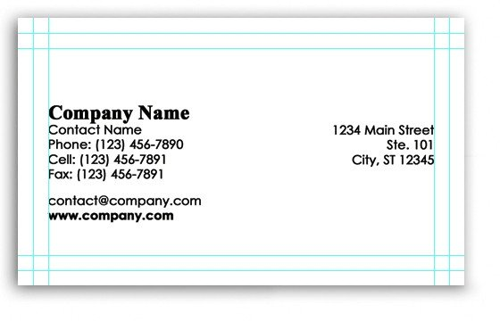Vistaprint Business Card Photoshop Template Shop Business Card Template