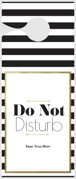 Vistaprint Door Hanger Template Do Not Disturb Door Hangers Templates & Designs