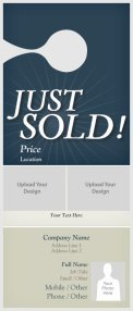 Vistaprint Door Hanger Template Real Estate Door Hangers Templates & Designs