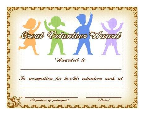 Volunteer Certificate Of Appreciation 134 Best Volunteer Recognition Images On Pinterest