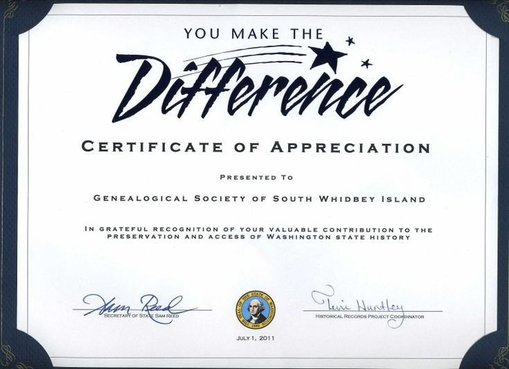 Volunteer Certificate Of Appreciation Thank You Certificates for Volunteers