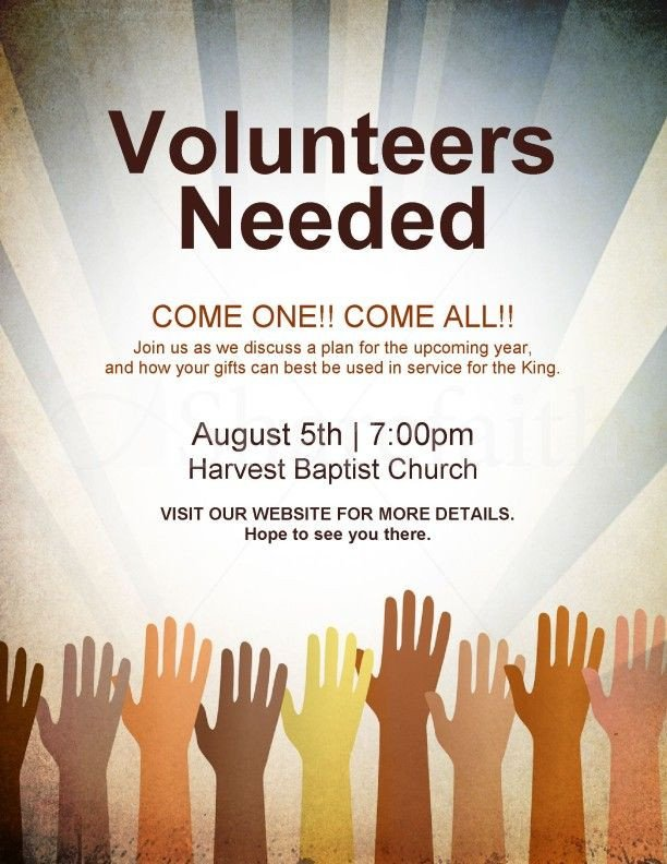 Volunteer Recruitment Flyer Template 17 Best Ideas About Volunteers Needed On Pinterest
