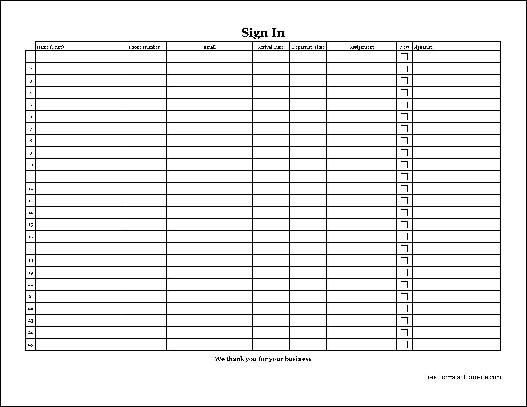 Volunteer Sign In Sheet Customizable Printable Sign Up Sheets Templates