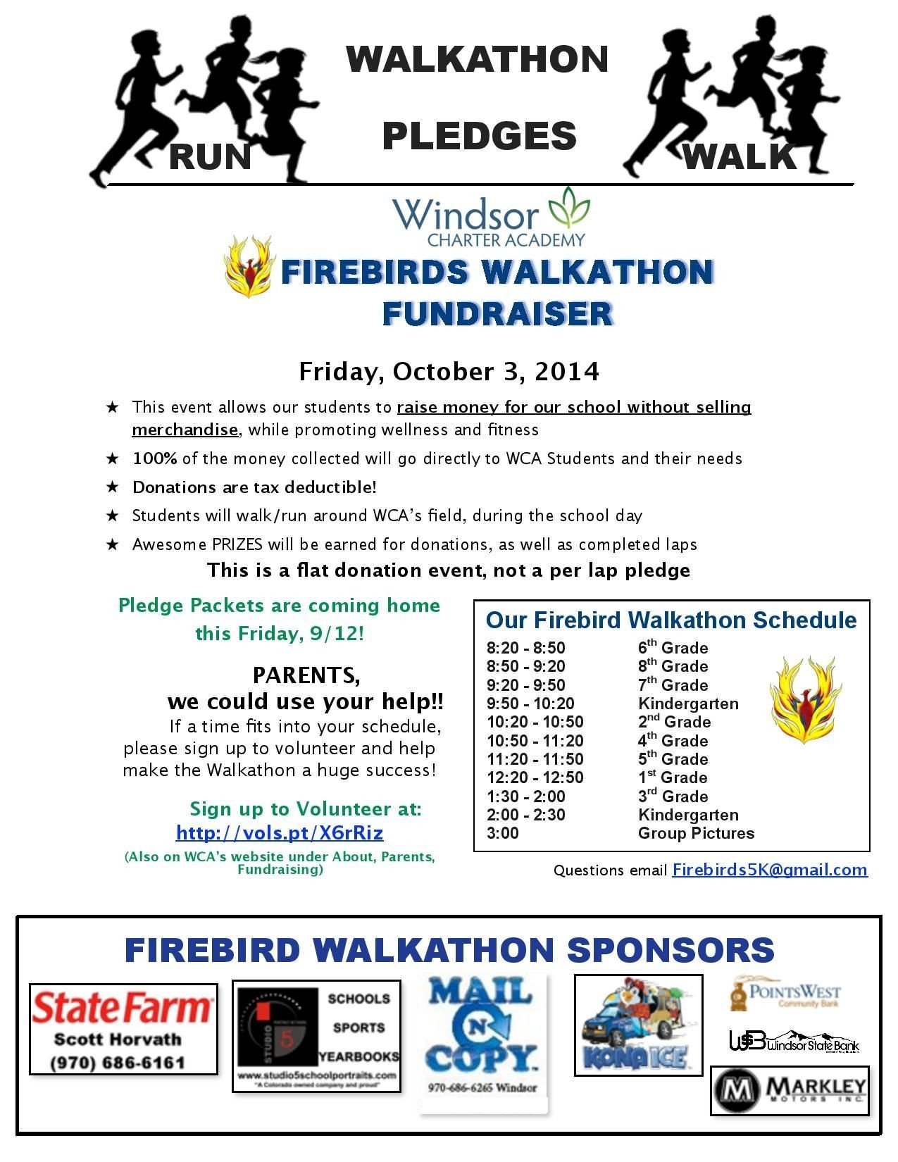 Walkathon Registration form Template 2014 Firebirds Walkathon Flyer for 9 12 14 Page 001