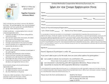 Walkathon Registration form Template Wrpc Pledge Summary form See Kids Dream World Record