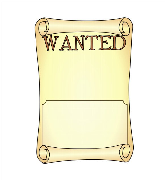 Wanted Poster Template Free 14 Blank Wanted Poster Templates Free Printable Sample