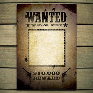 Wanted Poster Template Free Poster Templates