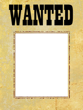 Wanted Poster Template Free Printable Wanted Poster Template Free