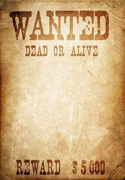 Wanted Poster Template Microsoft Word 6 Wanted Poster Templates Word Excel Templates