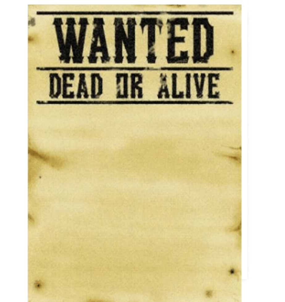 Wanted Poster Template Microsoft Word 7 Wanted Poster Templates Excel Pdf formats