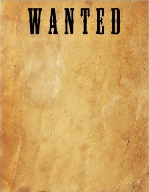 Wanted Poster Template Microsoft Word Get What Planning Still Outlaws