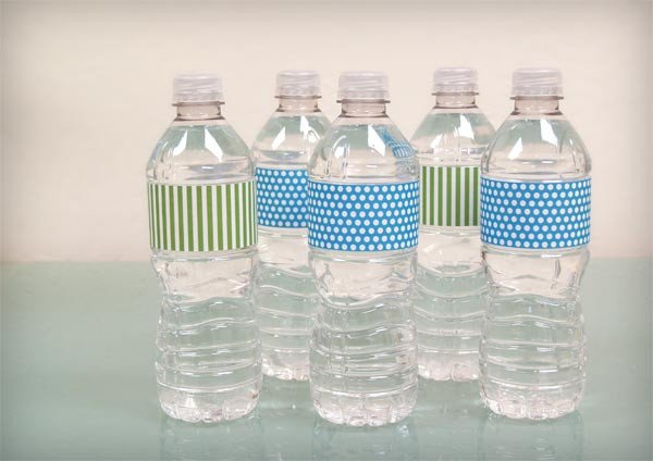 Water Bottle Label Template Free Bump Smitten Diy Shower Water Bottle Labels Free Download