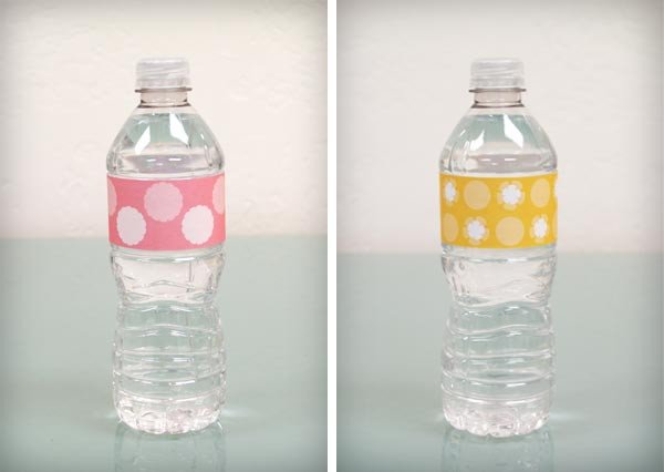 Water Bottle Labels Free Template Bump Smitten Diy Shower Water Bottle Labels Free Download
