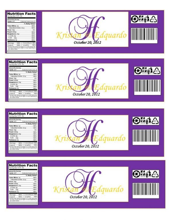 Water Bottle Labels Free Template Water Bottle Labels Template