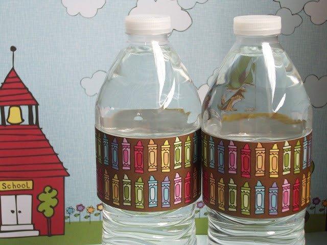 Water Bottle Wrapper Template Water Bottle Wrapper Template Free Download