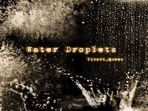 Water Drop Brush Photoshop 40 Water Brushes Textures Wallpapers and Tutorials